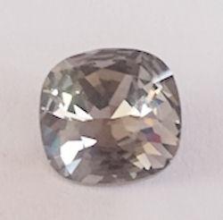 Swarovski 4470 Square Black Diamond 12x12mm