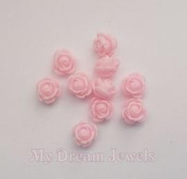 Roos Kraal Licht Rose 9mm