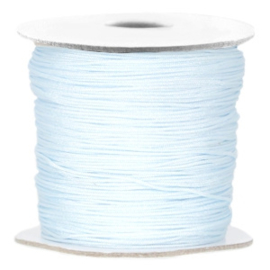 Macramé Draad Light Blue 0,7mm