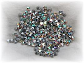 Swarovski 1012 puntsteen Crystal AB 3,8mm per 12 stuks