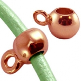DQ Hanger met oog 2mm Rose Gold