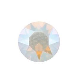 Swarovski 1088 puntsteen White Opal Shimmer PP18 ( 2,4mm )
