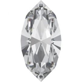 Swarovski 4200 Navette Crystal 5x2,5mm per 10 stuks