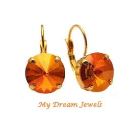 Oorbellen Phoenix met Swarovski Crystal