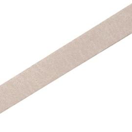 DQ Leer Plat 10mm kleur Silk Taupe  per 25cm