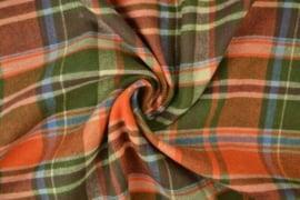 flannel ruit mosgroen - warmoranje