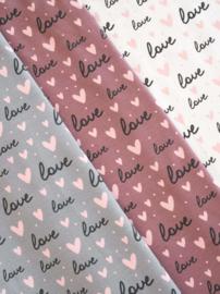 alles is liefde grijs ( links op de foto)