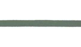 Plat koord 15 mm  mosgroen