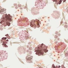 vintage floral jersey