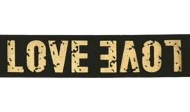 Love elastiek goud