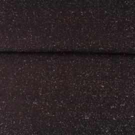 glitterboordstof zwart