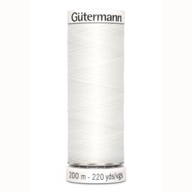 Gütermann 200 m allesgaren kleur 800 wit