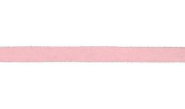 Plat koord 15 mm roze