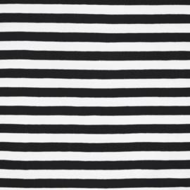 zwart - wit streep
