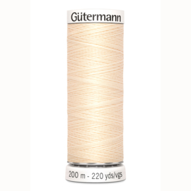 Gütermann 200 m allesgaren kleur 5 ecru