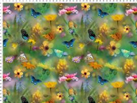 vlinders groen GOTS