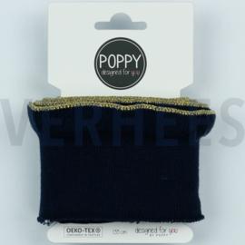 Poppy cuff me roezel lurex zwart