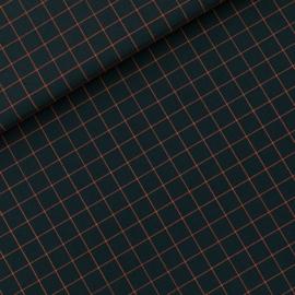 SEE YOU AT SIX katoen canvas gabardine twill Thin Grid