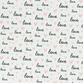alles is liefde wit