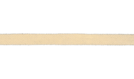 Plat koord 15 mm gebroken wit