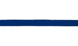 Plat koord 15 mm kobaltblauw