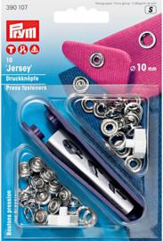 jersey drukkers zilver 10mm 390107