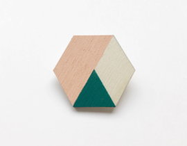 Brooch Hexagon