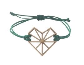 Bracelet Dark green