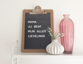 Poster: mama, jij bent mijn allerlievelings