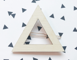 Hair Clip Triangle