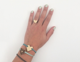 Armband IJsblauw