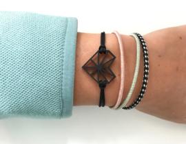 Armband 'Very Black'