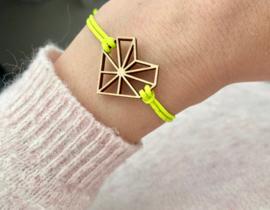 Armband - Neon Geel