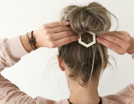 Hair Clip Hexagon