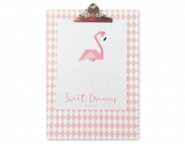 Clipboard Flamingo