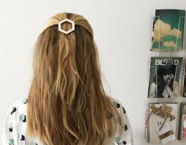 Hair Clip Hexagon