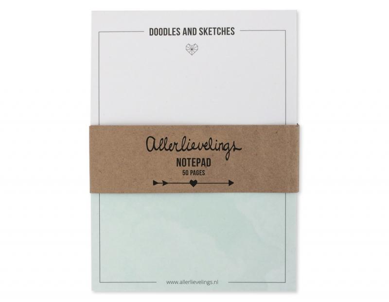 Notepad 50 sheets