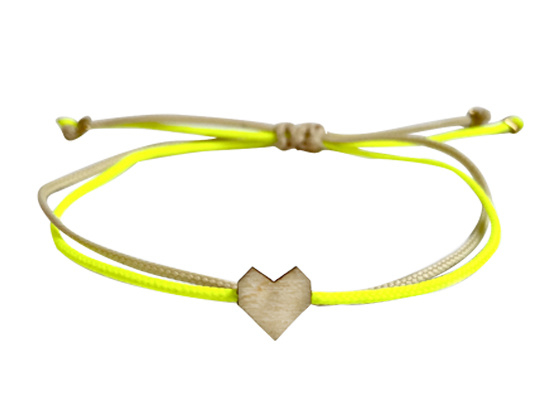 Armband - Pretty Little - Oh So Yellow