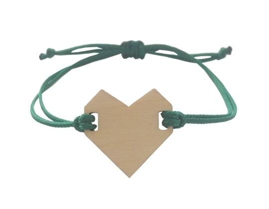 Armband Donker groen