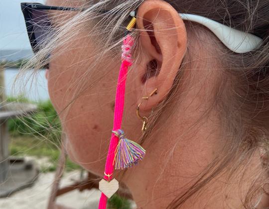 Brillenkoord - Pretty Pink