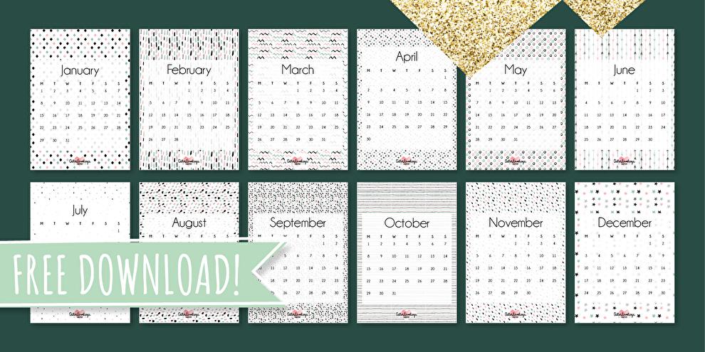 kalender 2018 allerlievelings