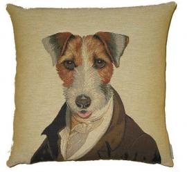 Gobelin Kissen Poncelet Terrier