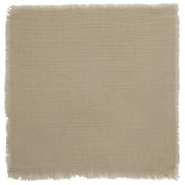Baumwollserviette Sand 40x40 cm