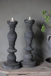 Holz Kerzenhalter Nüchtern
