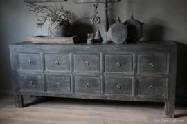 Oud Houten Dressoir / TV meubel