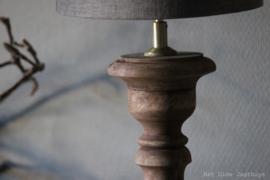 Houten Lamp Roos 50 cm