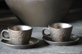 Servies Copper Schoteltje voor Espresso Kopje