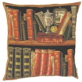 Gobelin Kissen Bücher