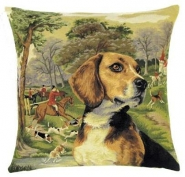 Gobelin Kissen Beagle