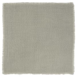 Katoenen Servet Ash Grey 40x40 cm